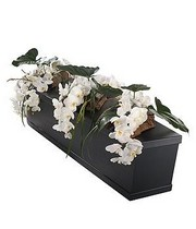 White Orchid Casket Bar Trio.