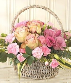 Pink Bundle of Joy Basket
