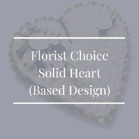 Florist Choice Solid Heart (Based Design)