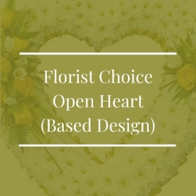 Florist Choice Open Heart (Based Design)