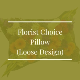 Florist Choice Pillow (Loose Design)