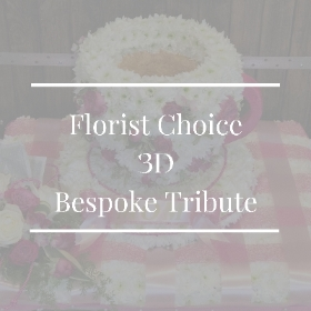 Florist Choice 3D Bespoke Tribute