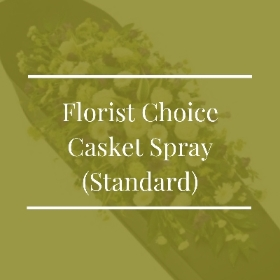 Florist Choice Casket Spray (Standard)