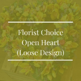Florist Choice Open Heart (Loose Design)