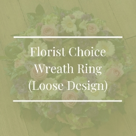 Florist Choice Wreath Ring (Loose Design)